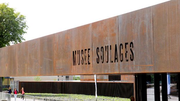 Musée Soulages situé à proximité du Restaurant Le Kiosque