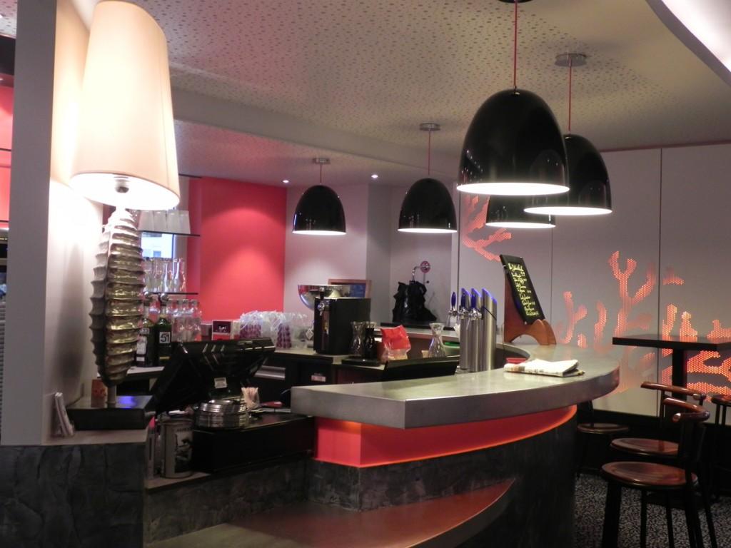 Bar du Restaurant Le Kiosque