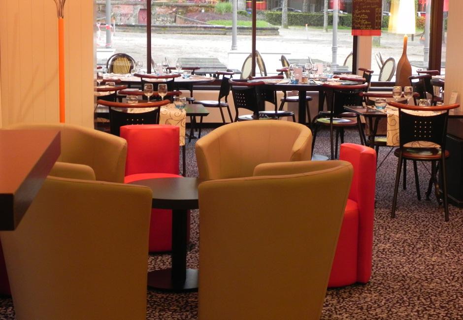 Salle à manger du Restaurant Le Kiosque